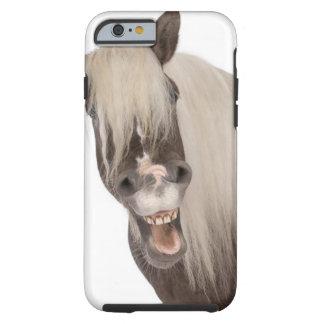 Comtois Pferd ist ein Entwurfspferd - Equus caball Tough iPhone 6 Hülle