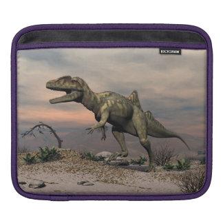 Concavenator Dinosaurier in der Wüste Sleeve Für iPads