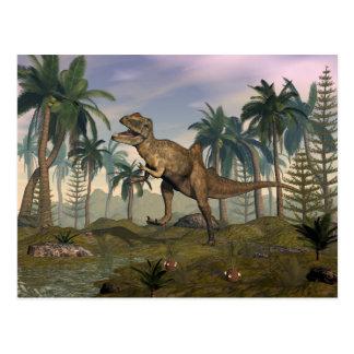 Concavenator Dinosaurier Postkarte