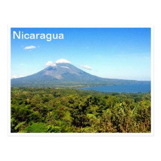 Concepción-Vulkan Postkarte