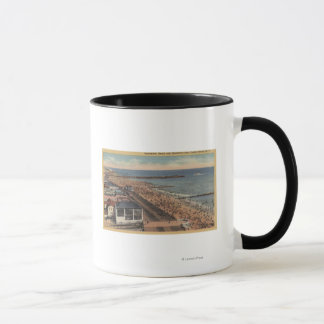Coney Island, New York - Promenade, Strand Tasse