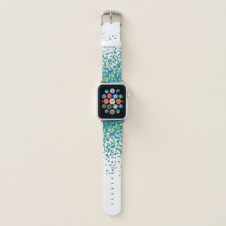 Confetti aquamarin apple watch armband