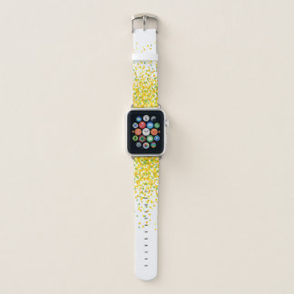 Confetti-Gelb Apple Watch Armband