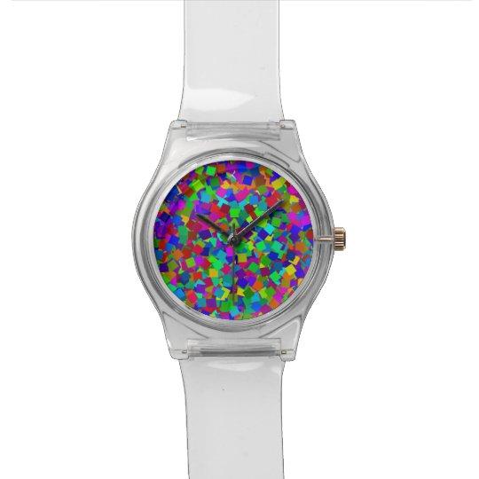 Confetti - mehrfarbig armbanduhr