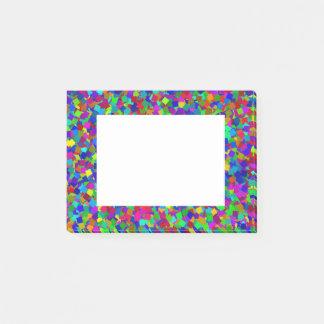Confetti - mehrfarbig post-it klebezettel