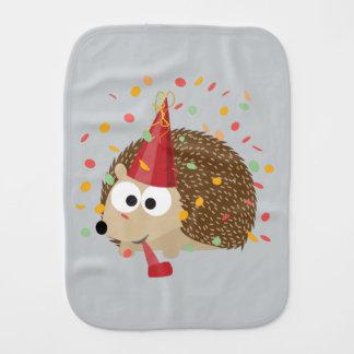 Confetti-Party-Igel Baby Spucktuch