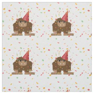 Confetti-Party Sasquatch Bigfoot Stoff