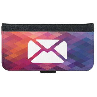 Confidentials emailt Grafik iPhone 6 Geldbeutel Hülle