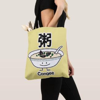 Congee Jook Reisbreimehlsuppen-Schüssel Chinesen Tasche