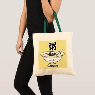 Congee Jook Reisbreimehlsuppen-Schüssel Chinesen Tragetasche