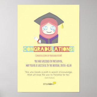 Congradulations! (Frau) Poster