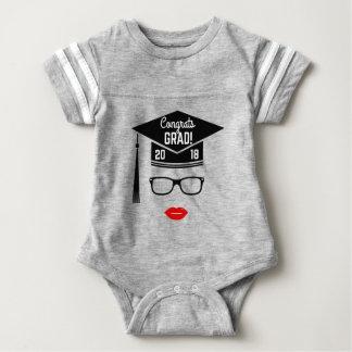 congrats Absolventmädchen 2018 Baby Strampler