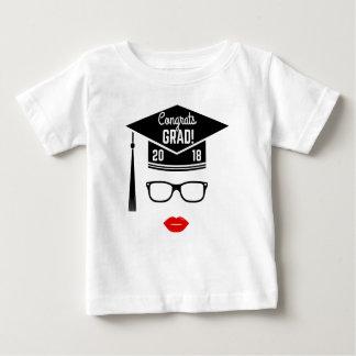 congrats Absolventmädchen 2018 Baby T-shirt