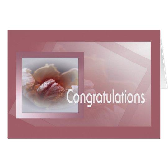 Congratulations Karte