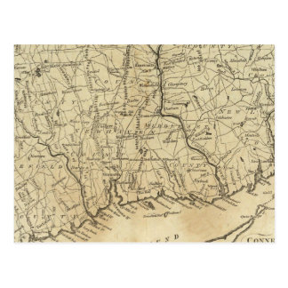 Connecticut 2 postkarte