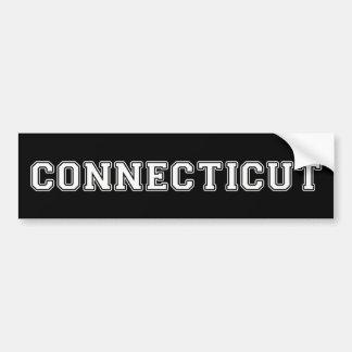 Connecticut Autoaufkleber