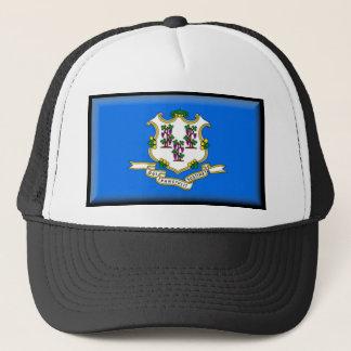 Connecticut-Flagge Truckerkappe