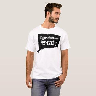 Connecticut-Konstitutions-Staatst-shirt T-Shirt