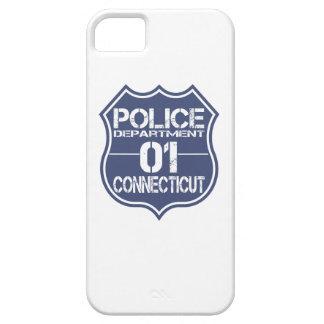 Connecticut-Polizeidienststelle-Schild 01 Etui Fürs iPhone 5