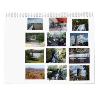 Connecticut-Staats-Parks Abreißkalender