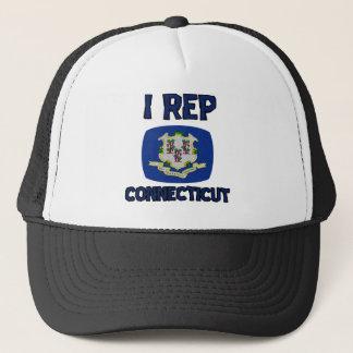Connecticut-Staatsentwürfe Truckerkappe