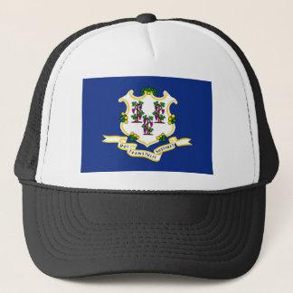 Connecticut-Staatsflagge USA vereinigte Truckerkappe