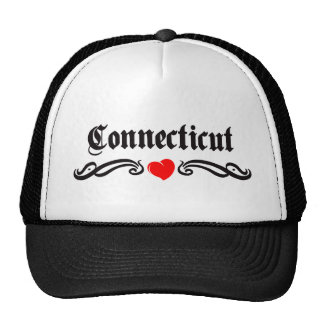 Connecticut-Tätowierung Trucker Caps