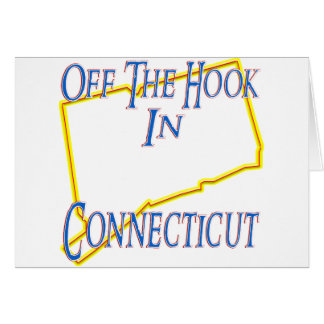Connecticut - weg vom Haken Karte