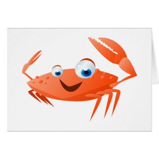 Connor die Krabbe Karte