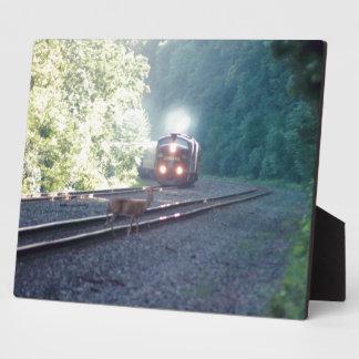 Conrail Büro-Auto Zug-OCS 8/22/97 Plakette Fotoplatte