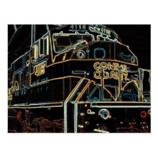 Conrail Qualität 1976 - 1999, SD-80MAC #4118 Postkarte