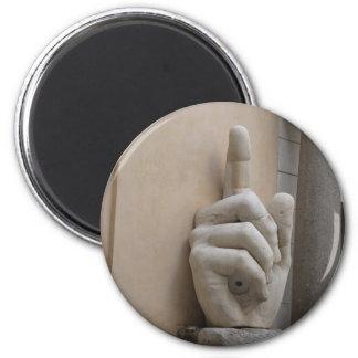 Constantines Hand, Rom Runder Magnet 5,7 Cm