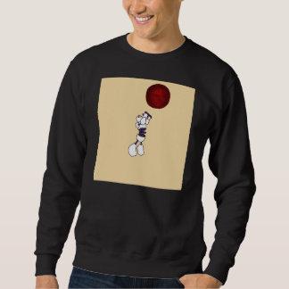 Constructus Roboter-Sweatshirt-Schwarzes Sweatshirt