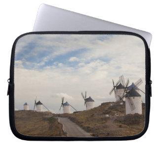 Consuegra, antike La Mancha Windmühlen 4 Laptopschutzhülle