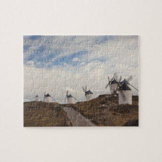 Consuegra, antike La Mancha Windmühlen 4 Puzzle