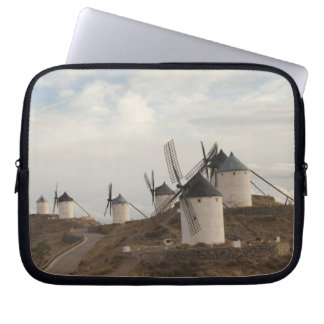 Consuegra, antike La Mancha Windmühlen Laptop Sleeve