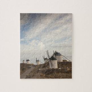 Consuegra, antike La Mancha Windmühlen Puzzle