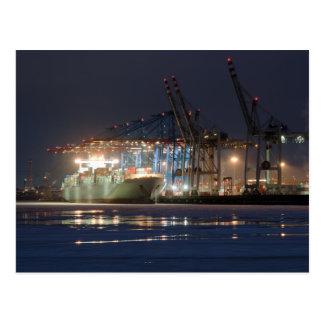 Containerschiff Postkarten