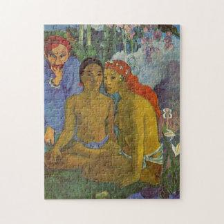 """""""Contes Barbares"""" - Paul Gauguin Puzzle"""
