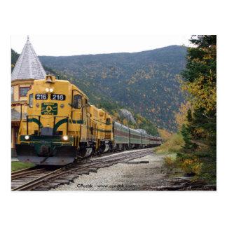 Conway landschaftliche Eisenbahn, NH Postkarte
