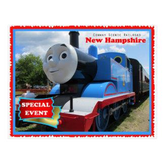 Conway landschaftliches Eisenbahn-Ereignis Postkarte