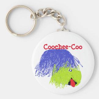Coochee-Gurren, Schlüsselring Standard Runder Schlüsselanhänger