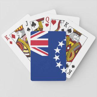 Cook_Islands nationale Weltflagge Spielkarten