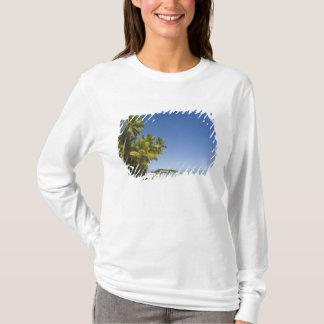 Cookinseln, Aitutaki. Polynesischer Kanuausflug zu T-Shirt
