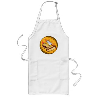 Cookout-Meister Lange Schürze