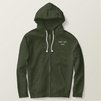 cool bestickter hoodie