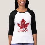 Cool Canada Jersey  Retro Maple Leaf Souvenir Tshirts