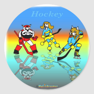 Cool hockey gifts for kids sticker