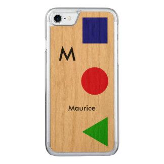 cool, modern, Grafik und Carved iPhone 8/7 Hülle