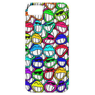 Cool Smiling Faces iPhone 5 Cover